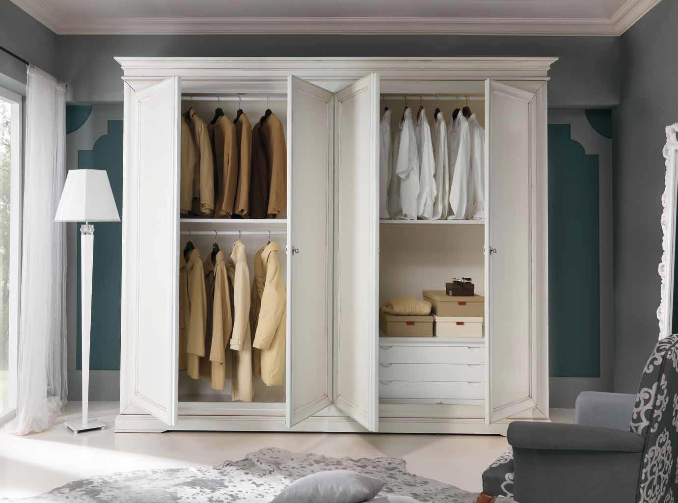 Итальянские шкафы classic 2013 фабрики cp mobili - шкафы и ш.