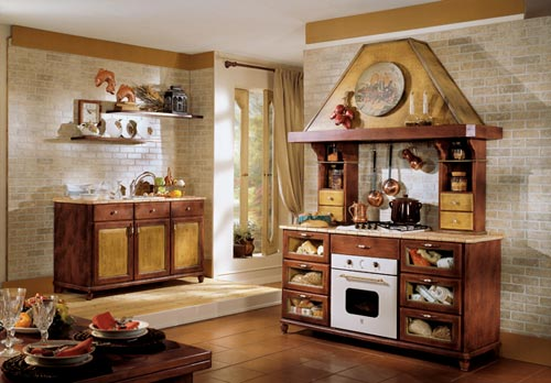 Cucine old italy - Arredo cucina country ...