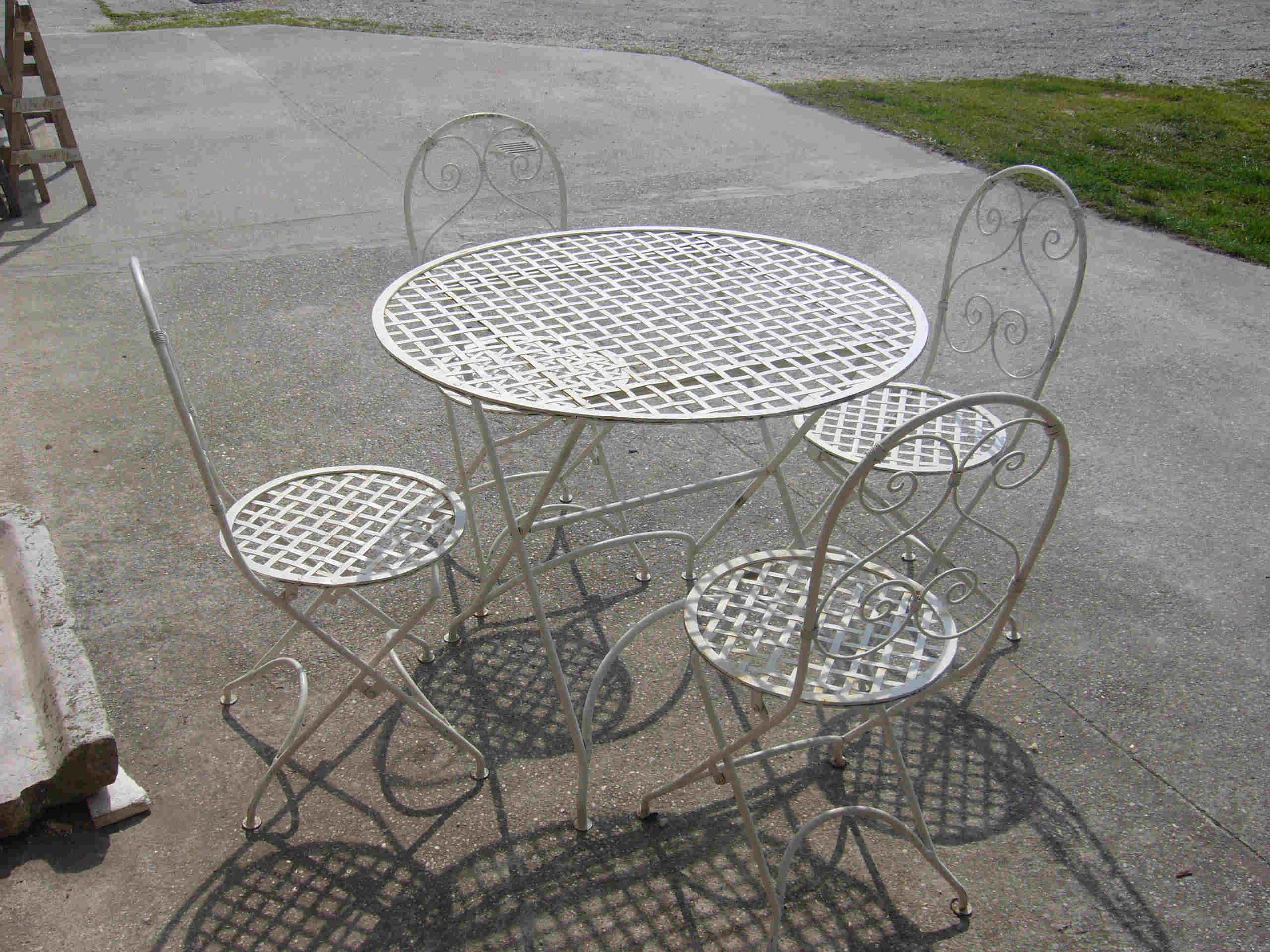 I prodotti varie - Set da giardino ferro battuto ...