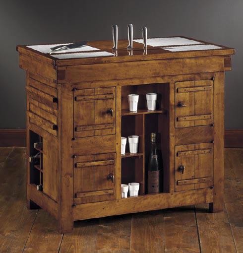 tavolino da cucina con marmi inclusi l100 p60 h88